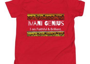 Imani Genius Afri-print Tee
