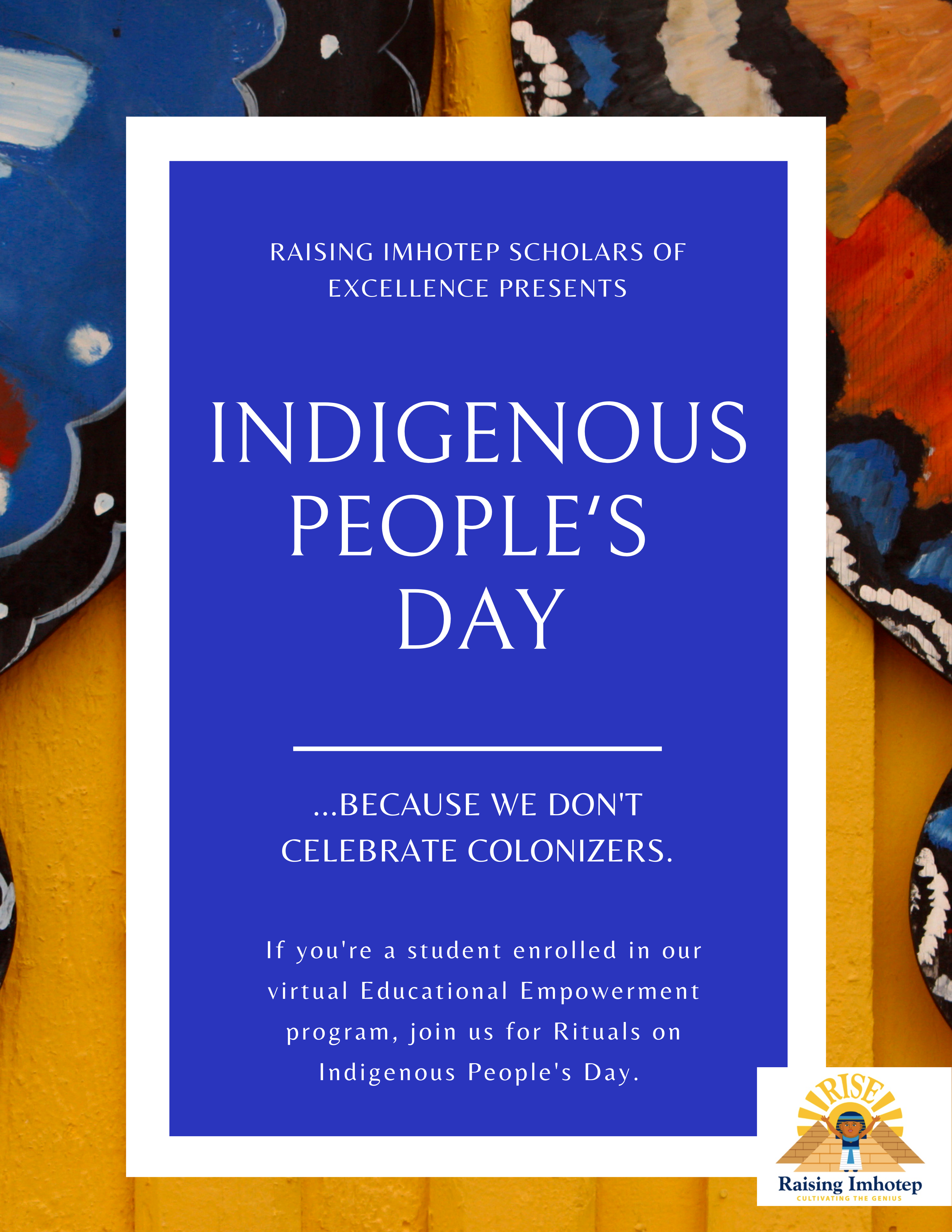 Indigenous People's Day Lesson Plan