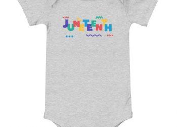 Infant Juneteenth In Living Color Onesie