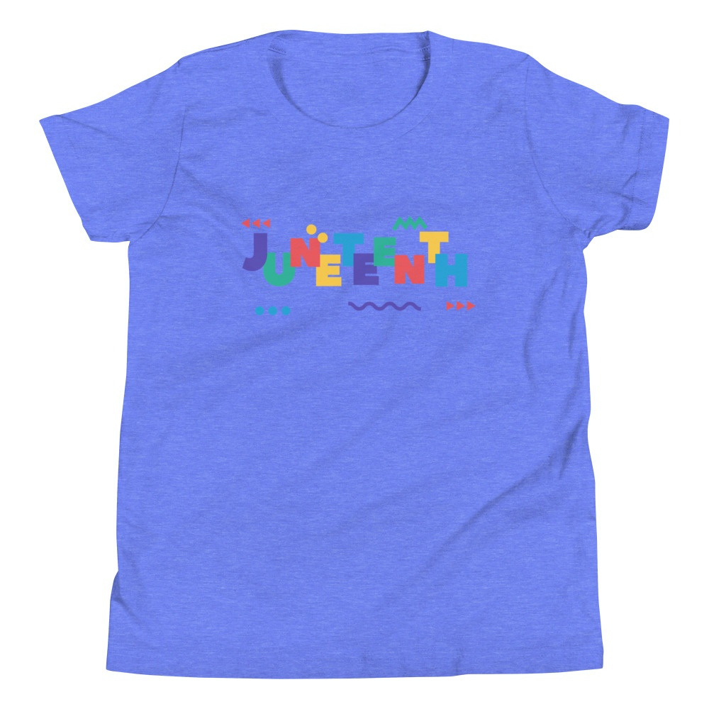 Youth Juneteenth In Living Color Tee